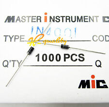 20PCS 1 A 50 V Redresseur Diode 1N4001 IN4001 DO-41 SSY-2420 nouveau