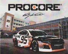 "2018 Kasey Kahne signed Procore ""1st issued"" Chevy Camaro NASCAR MENCS postcard"