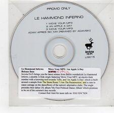 (FU321) Le Hammond Inferno, Move Your MP3 - 2001 DJ CD