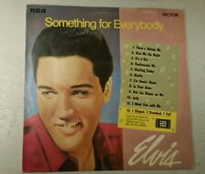RARE ELVIS L.P 'SOMETHING FOR EVERYBODY' RCA ORANGE VICTOR LABEL  CAT.No. SF5106