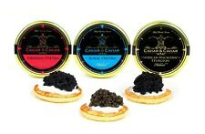 CAVIAR SAMPLER Gift 3 x 20g Royal - Siberian - Premium Sturgeon Osetra + SPOON