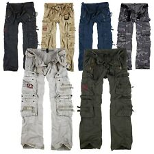 Surplus Raw Vintage Royal Traveler Trousers Premium Cargo Pants Hose Airborne