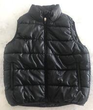 Girls Old Navy Black Zip Up Puffer Vest Size XS (6-7)
