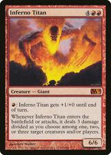 1X FOIL Inferno Titan MTG Magic CORESET 2011 M11 146/225