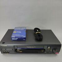 Panasonic PV-V4660-K Video Cassatte Recorder Tested