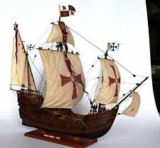 Heller Santa Maria 1:75 - set of sails for model sewed on CNC machine