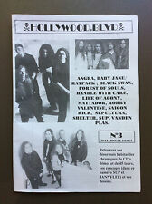 HOLLYWOOD BLVD MAGAZINE Hard Rock Heavy Metal French Fanzine #3 Angra /SUP /LOA