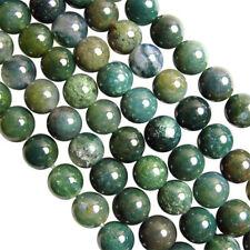 Perline sfuse di perla verde