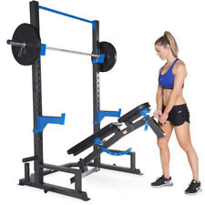 Power Rack Weight Lifting Cage With Bench Home Gym Workout Core Strength Fitness