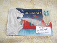 Singapore ,Starbucks,,new gift card, 0412 Singapore Merlion.