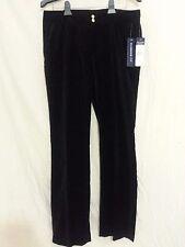WOMEN'S Chap's Black Sportswear Slim Fit 100% Cotton DRESS PANTS Sz 10 NWT