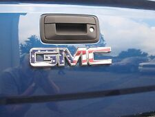 2014 15 16 17 GMC CANYON AMERICAN FLAG REAR TAILGATE DECAL EMBLEM OVERLAY DIY