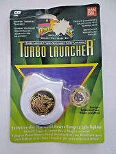 Power Rangers White Turbo Launcher & Spin Fighter Tigerzoid MOC Bandai 1995