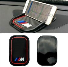 BMW M Sport Car Anti Slip Mat Accessory Phone Holder Dashboard Gripper New Black