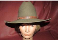 Grif's Western, Quality Made 4X Fur Wool Blend Cattleman Cowboy Hat Brown 6 7/8
