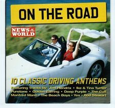 (EA317) On The Road, 10 tracks various artists - 2005 News of the World CD