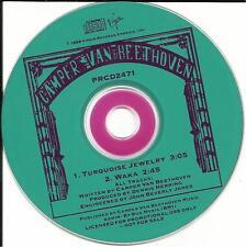 Cracker CAMPER VAN BEETHOVEN Turquoise Jewelry / Waka 1988 PROMO DJ CD Single