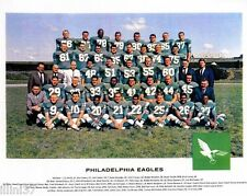 1962 PHILADELPHIA EAGLES NFL FOOTBALL 8x10 TEAM PHOTO BEDNARIK JURGENSEN BAUGHAN