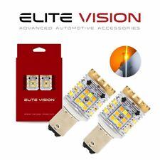 Elite Vision 1157 Switchback LED Front Rear Turn Signal Bulbs Kit for Renault 3K