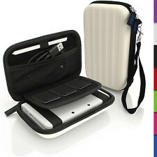 White EVA Hard Carry Case Cover for New Nintendo 3DS Travel Sleeve Bag Pouch
