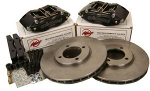 Wilwood For BMW 3 Series E30 Brake Kit Midilite 4 Pot Calipers 280 x 22mm Disc