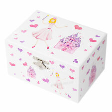 Princess Castle Musical Jewellery Box Childrens Organiser Case Gifts For Girls