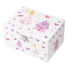Princess Castle Portagioie Musicale per Bambini ORGANIZZATORE CASE regali per ragazze