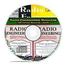 Radio Engineering, 135 Classic Old Time Radio OTR Magazine Collection CD B80