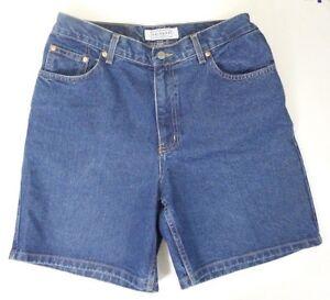 ARIZONA Denim Shorts Size 13 Classic  Waist  Medium Wash  Mom Jean Shorts
