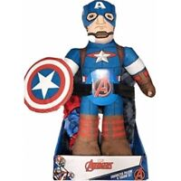 Marvel Avengers Captain America Character 2 Piece Pillow Plush and Throw Blanket