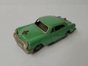 Vintage electric battery Sedan car tin toy, Foreign Japan.