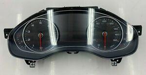 2012 AUDI A6 A7- INSTRUMENT SPEEDOMETER GAUGE CLUSTER 4G8920982G OEM