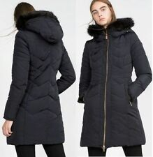 Zara Zip Patternless Plus Size Coats & Jackets for Women