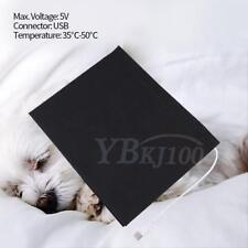 5V USB Electric Cloth Heater Pad Heating Element for Pet Belt Warmer High Q gf