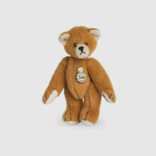 Teddy Hermann jointed collectable brown miniature teddy bear in box 154150