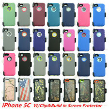 Wholesale Lot IPhone 5s/SE Heavy Duty Defender Case w/Belt Clip&Screen Protector