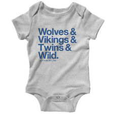 Loyal to The Twin Cities One Piece - Baby Infant Creeper Romper NB-24M - Sports