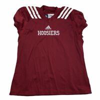 Adidas Indiana IU Hoosiers Authentic Football Blank Practice Jersey Sz XXL 2XL