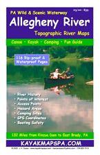 Kayak / Canoe - Allegheny River Paddler's Topographic Maps