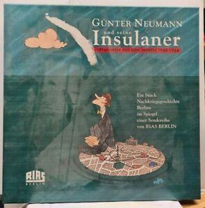 CD-Box (4 Doppel-CD´s) Günter Neumann und seine Insulaner - mit 84-seitigem Buch