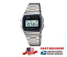 NEW CASIO WATCH RETRO DIGITAL UNISEX A-158W A-158 ORIGINAL-ALARM-CHRONOMETER