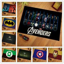Living Room Area Rug Carpet The Avengers 3D Print Anti-Skid Rug Home Floor Mats