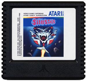 Sinistar - Atari 5200 Game - New!