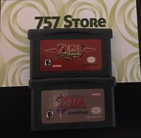Legend of Zelda Minish Cap/Link To The Past GBA Bundle*USED GAMES*