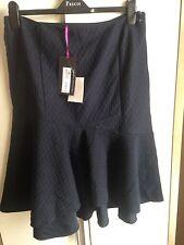 Navy Per Una Skirt Size 14 (bnwt)