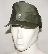 WWII German WH Officer Summer Panzer m43 Field Cotton Cap Green Size M-GM045