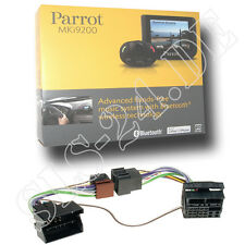 Parrot MKi9200 Freisprechanlage + BMW FSE KFZ Radio Adapter 40Pin FlachPin ab01