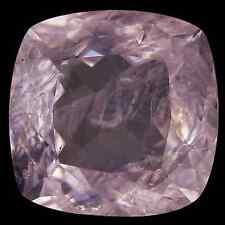 3.96 cts Natural Unheated Superior-Luster Cushion-cut Pink VVS Morganite