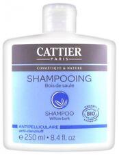 Cattier Anti-Dandruff Willow Bark Shampoo 250 ml nourishes and fortifies hair