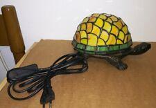 Lampada Tartaruga Stile Tiffany Style Turtle Lamp  refM2